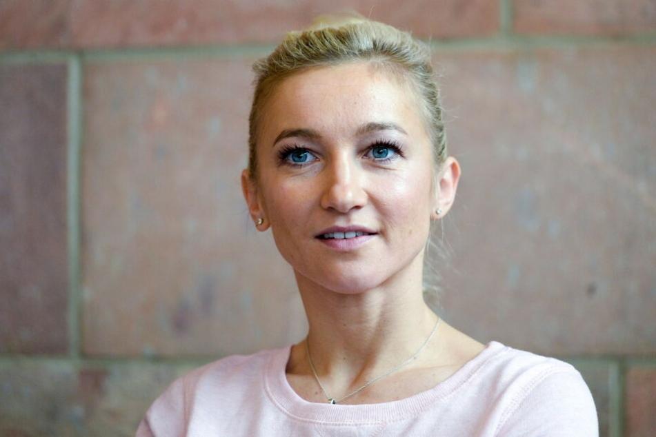 Aljona Savchenko ist zum ersten Mal Mutter geworden.