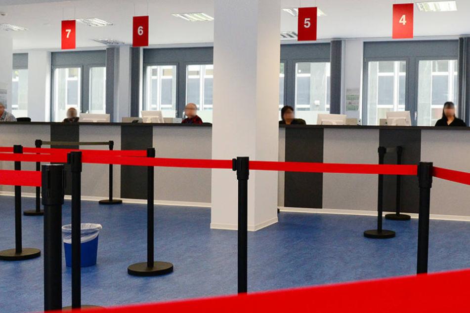 Im Landesamtes für Flüchtlingsangelegenheiten Berlin (LAF) ist es jetzt auch mal leer (Archivbild).