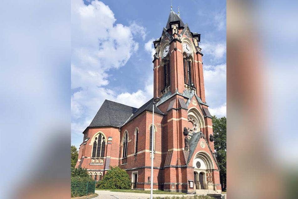 Die Plauener Pauluskirche.