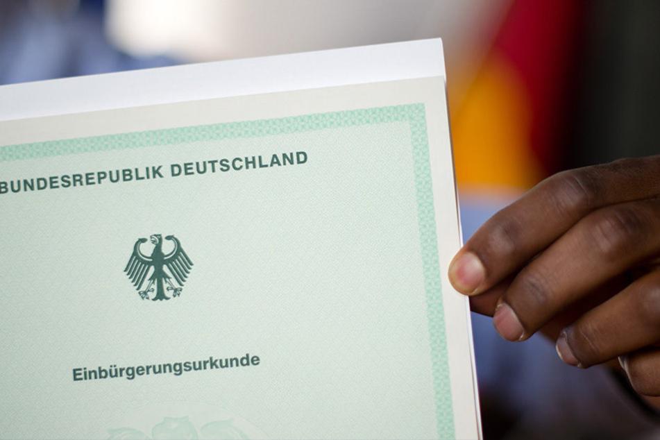 Mit 120 Einbürgerungen gab es die meisten in der Landeshauptstadt Erfurt.