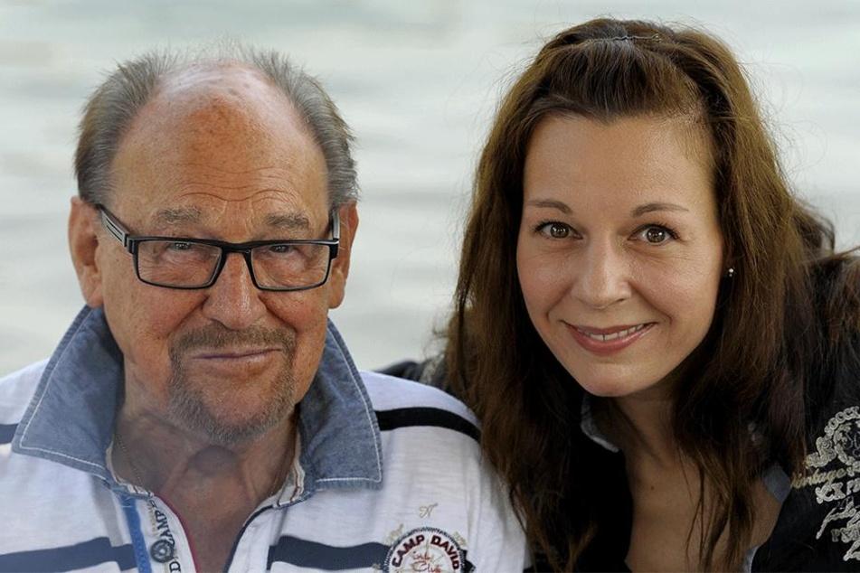 Teilen beide die Leidenschaft fürs Schauspiel: Herbert Köfer und seine Tochter Mirjam (44).