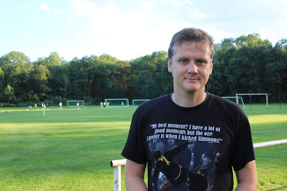 Steve Büchner ist Leiter der Abteilung Fußball bei der SG LVB.