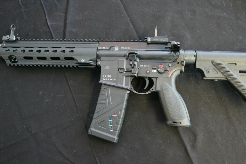 Ein Sturmgewehr G38 von Heckler und Koch: Mit 1500 Waffen wird die hessische Polizei im Frühjahr 2020 ausgestattet.