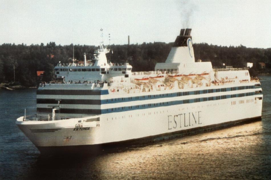 """""""Viking Sally"""" wurde in """"Estonia"""" umbenannt (undatiertes Archivfoto). Sie sendete am 28. September 1994 um 00.23 Uhr SOS und sank in weniger als einer halben Stunde."""