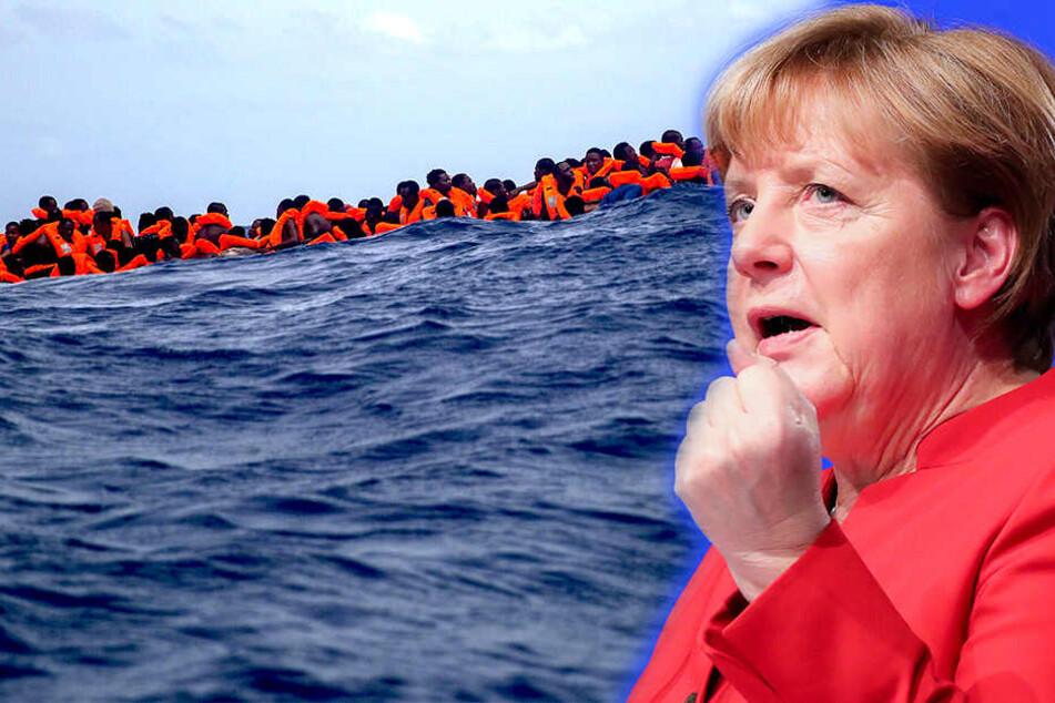 Merkel will Zahl der Flüchtlingsplätze verdoppeln