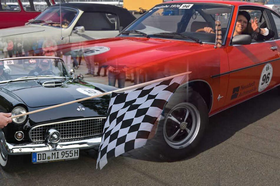 Mustang, Manta und Co.! Hier rollen die schönsten Oldtimer durch Sachsen