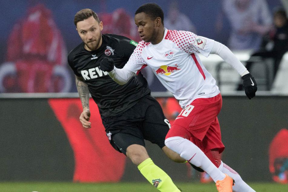 Nach wie vor Wunschspieler in Leipzig: Ademola Lookman, der in der letzten Rückrunde für RB Leipzig erfolgreich am Ball war.
