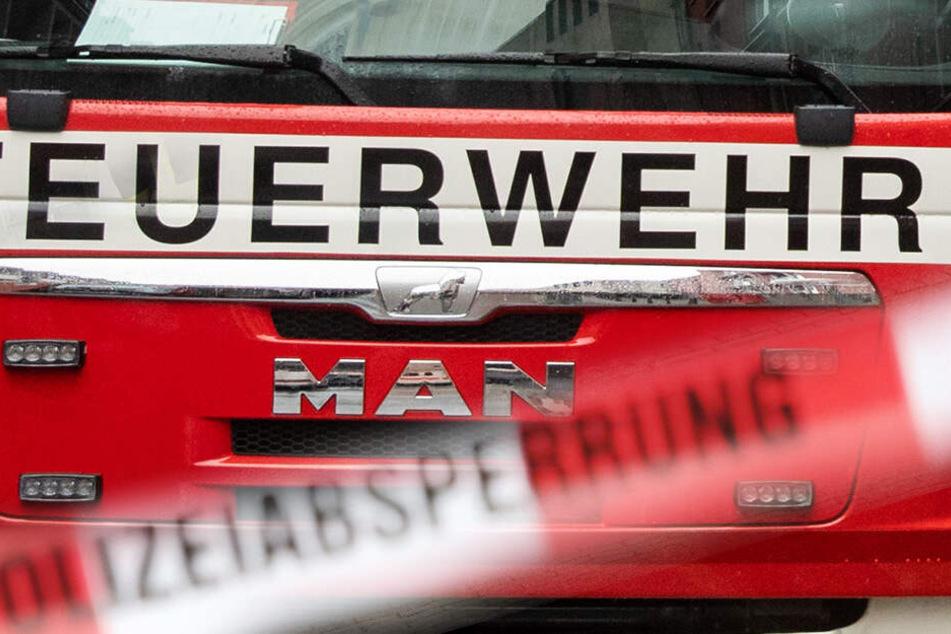 Brandstiftung? Wohnung steht in Flammen, drei Menschen springen in Panik aus dem Fenster