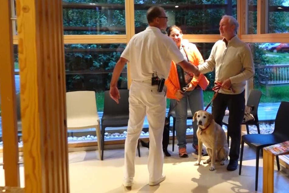 Hundum gesund: Rund 150 Tiere werden tagein tagaus in der Klinik behandelt.