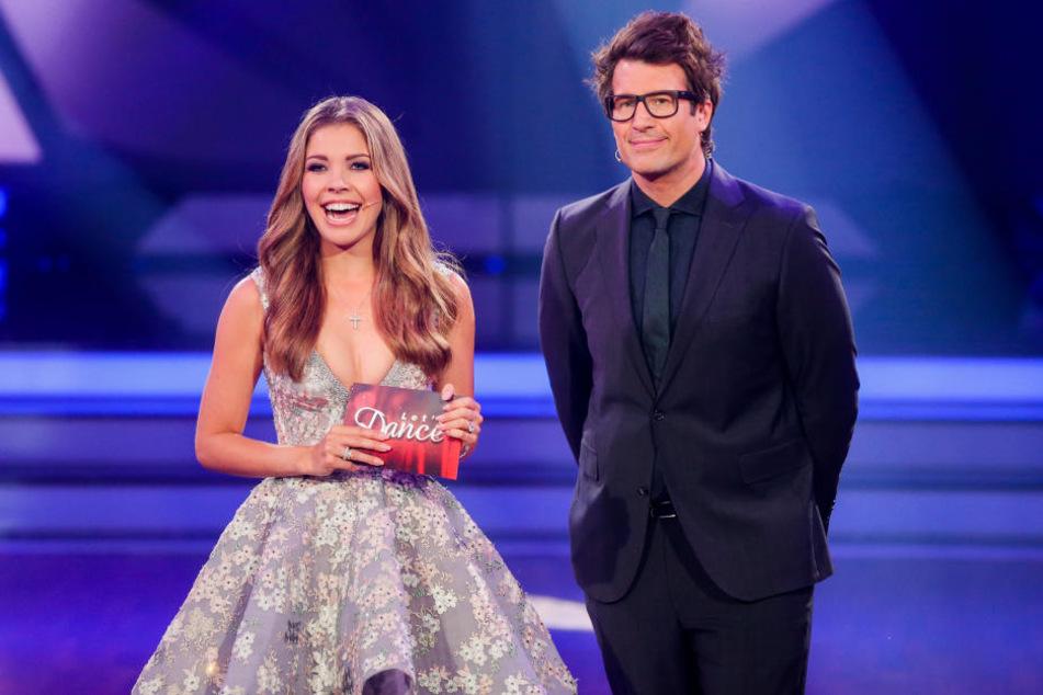 Gemeinsam mit Daniel Hartwich moderierte die 25-Jährige bereits die letzte Staffel.
