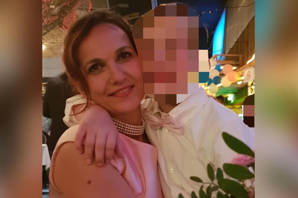 Die Frau ist mit ihrem Sohn untergetaucht.