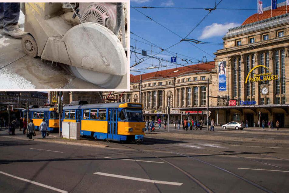 Horror-Unfall! Bauarbeiter sägt sich mit Betonschneider in den Fuß