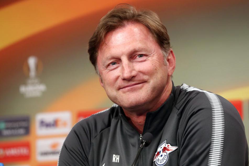 """""""Wenn uns Chancen geboten werden, müssen wir uns belohnen"""", fordert RB Leipzigs Trainer Ralph Hasenhüttl vor dem Duell mit Olympique Marseille."""