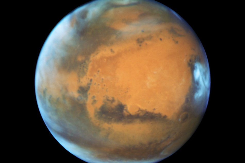 Mars will be shining bright this week