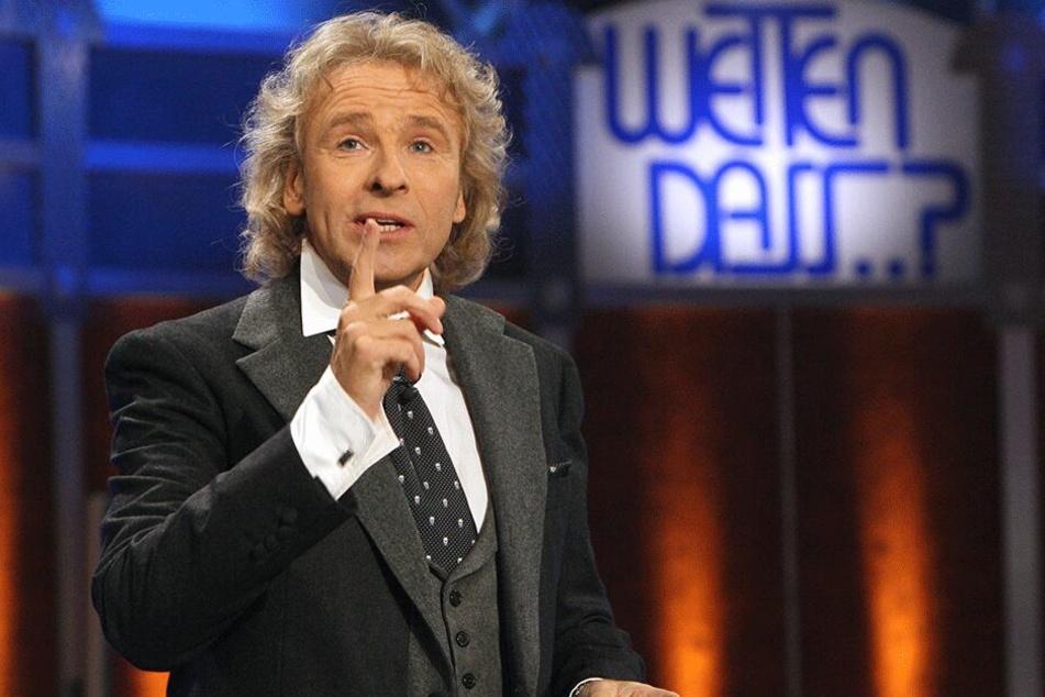 Thomas Gottschalk (68) in seiner erfolgreichsten Sendung (Archiv).
