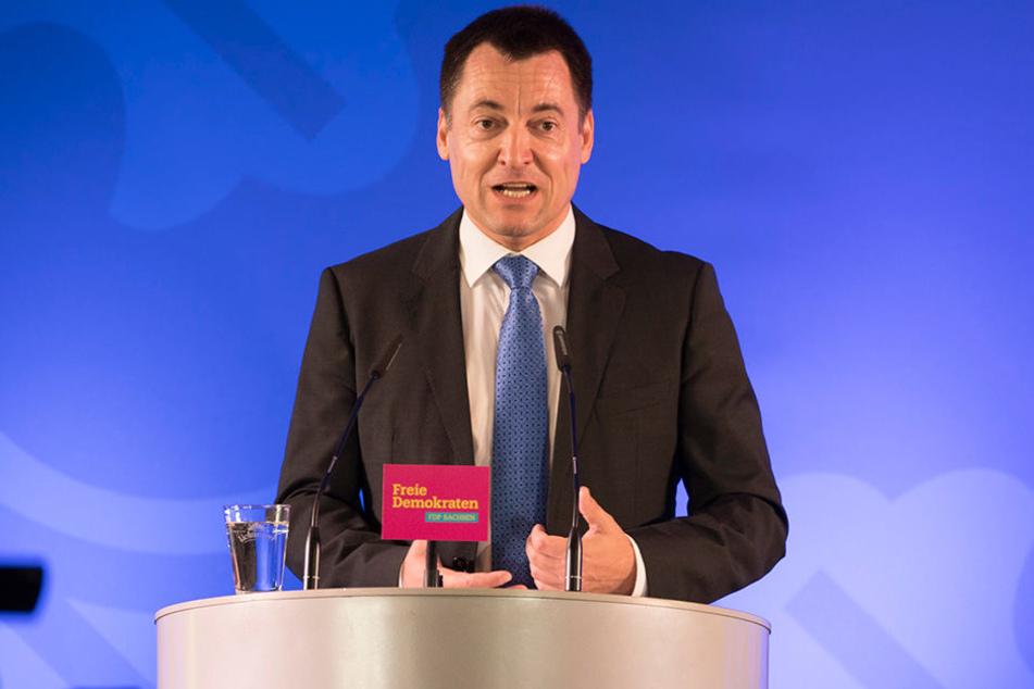 Generalsekretär Torsten Herbst (43) ist der Spitzenkandidat der Sachsen-FDP bei der Bundestagswahl.