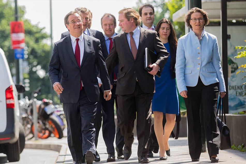 Koalitionsvertrag für NRW steht: CDU und FDP einig
