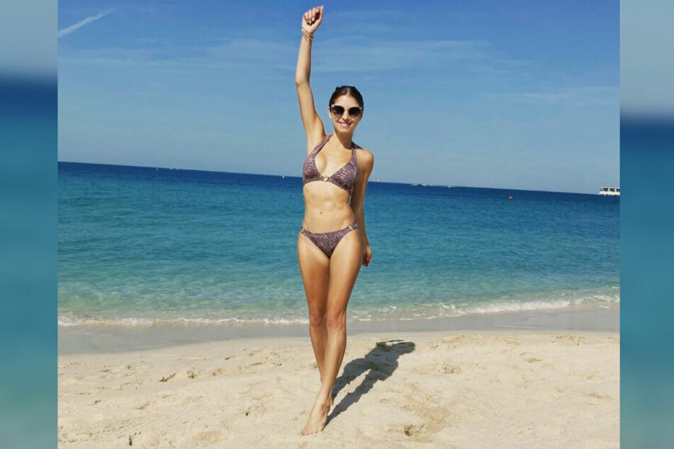 Cathy Hummels ist stolz auf ihren Beach Body.