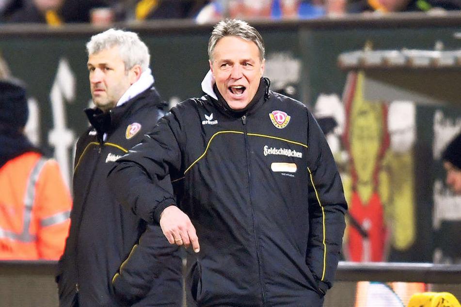 Dynamo-Trainer Uwe Neuhaus war absolut bedient. Er war stinksauer und kritisierte seiner Männer so hart wie noch nie zuvor.