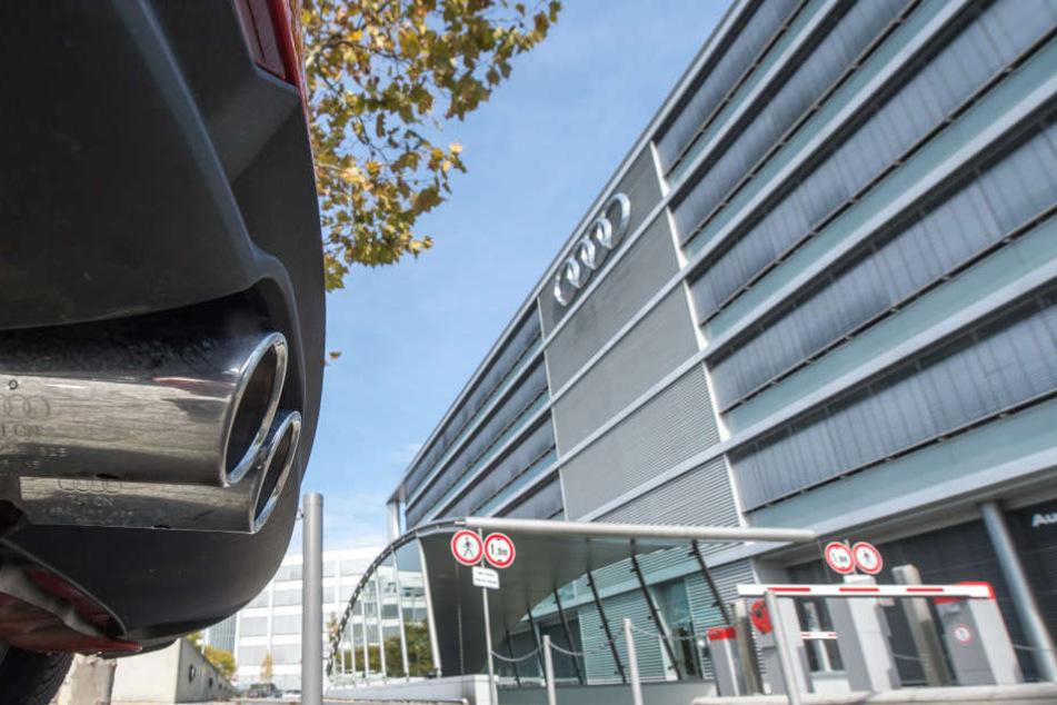 Die Zentral des Autoherstellers Audi wird derzeit durchsucht. (Symbolbild)