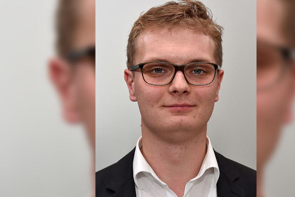 Der Landtagsabgeordnete Valentin Lippmann (27, Grüne) will wissen, wie rechtsextrem der Chemnitzer Sicherheitsdienst ist.