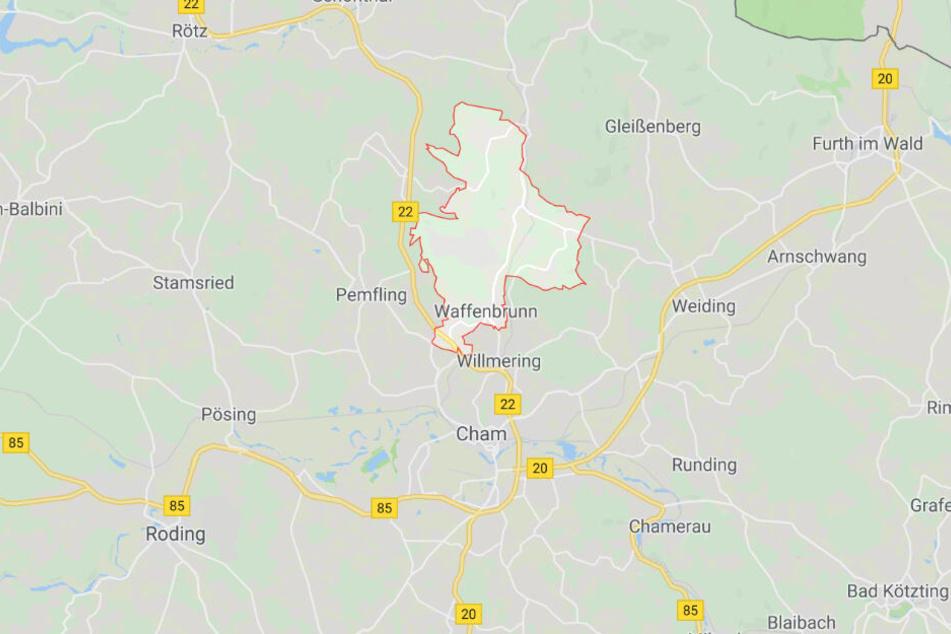 In Bayern ist es bei Waffenbrunn im Landkreis Cham zu einem schrecklichen Wildunfall gekommen.