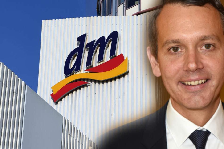 Christoph Werner ist neuer Vorsitzender der Geschäftsführung bei dm. (Fotomontage)