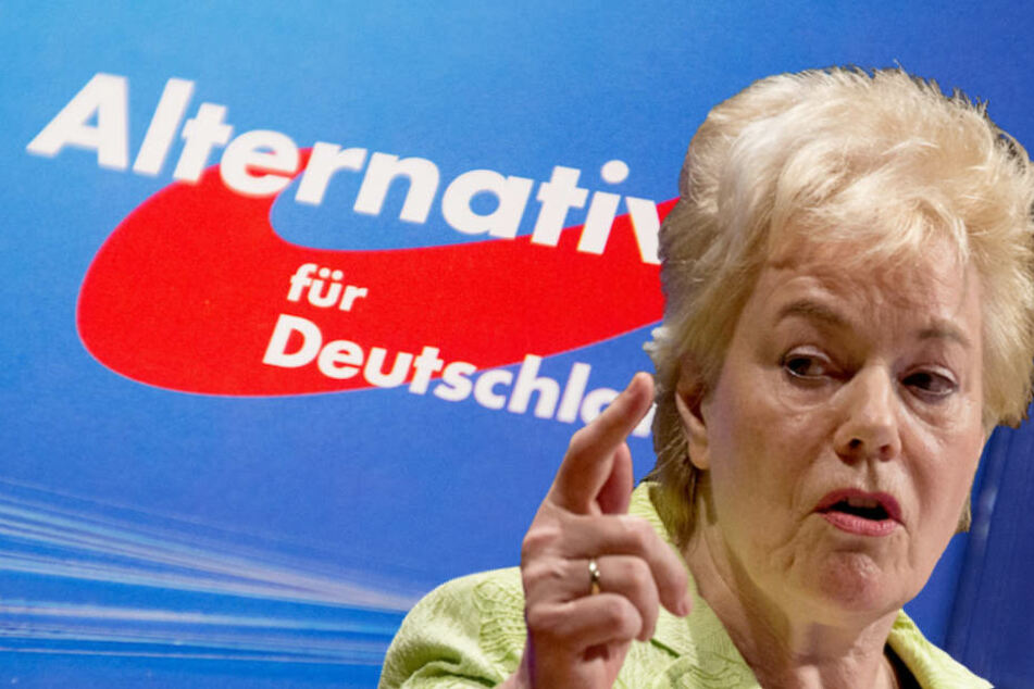 Die AfD erkennt die von Ex-CDU-Politikerin Erika Steinbach (74) geleitete Stiftung nicht als parteinah an. (Bildmontage)