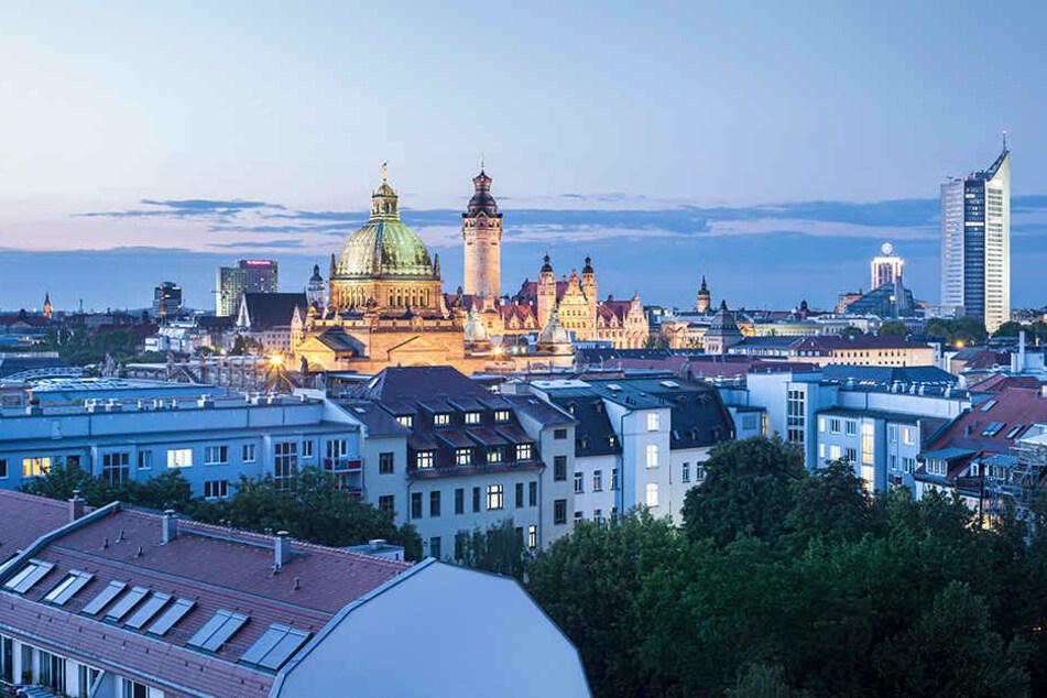 """Die in London ansässige Academy of Urbanism hat Leipzig wegen seines Engagements für eine nachhaltige Stadtentwicklung zur """"European City of the Year gekürt."""