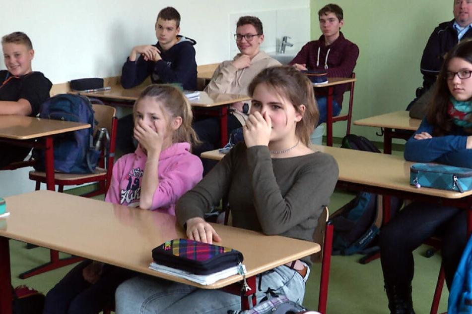 Bundespolizei führt Schock-Lehrstunde für Schüler durch