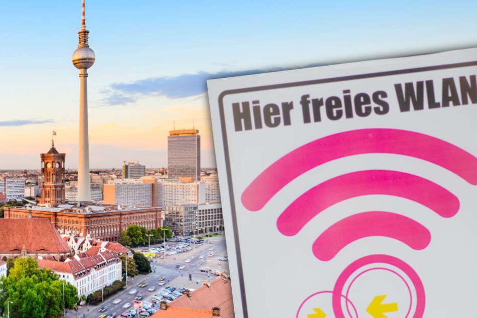 Für 4,2 Millionen Euro: Berlin soll 2000 neue WLAN-Hotspots bekommen