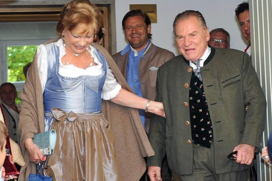Angela Wepper war seit 1979 mit Fritz Wepper verheiratet.