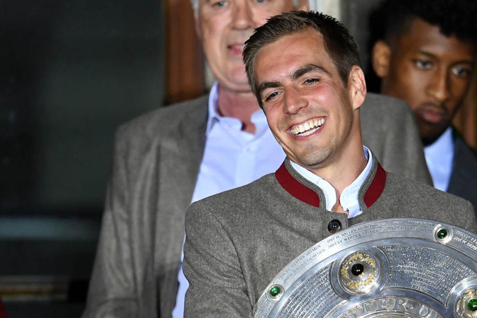 Philipp Lahm (33) hat fast alles gewonnen, was es als Fußballprofi zu gewinnen gibt.