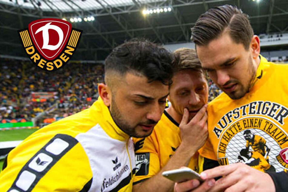 Dynamo-Kicker lieben Social Media, bis auf einen