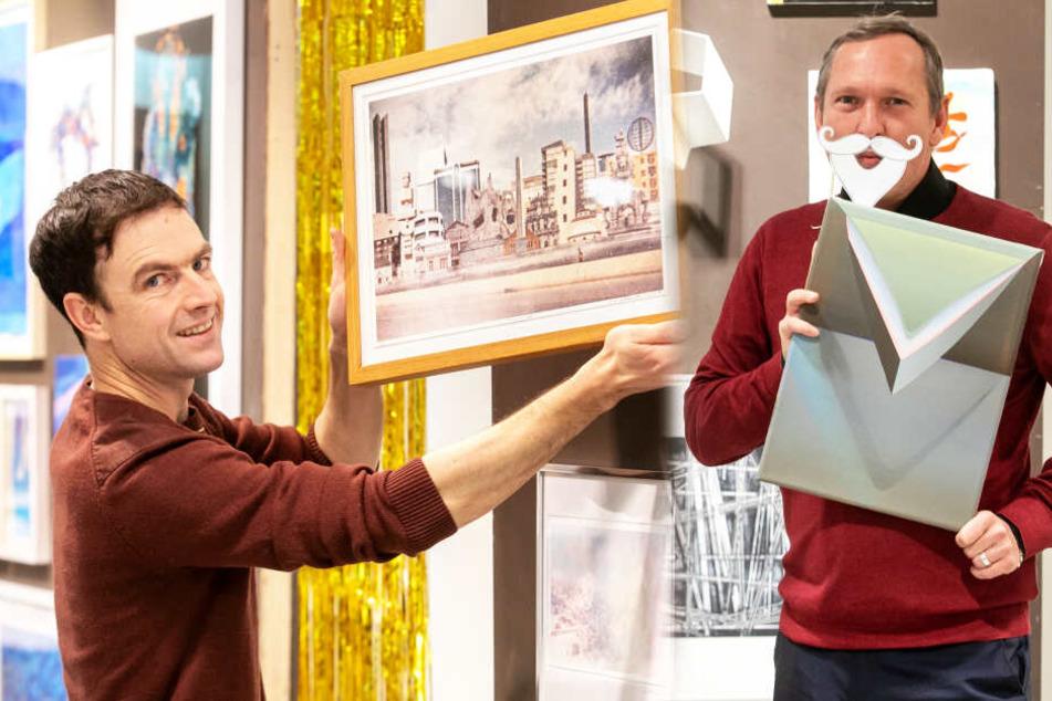 Altes Kaufhaus wird zum Kunst-Weihnachtsmarkt