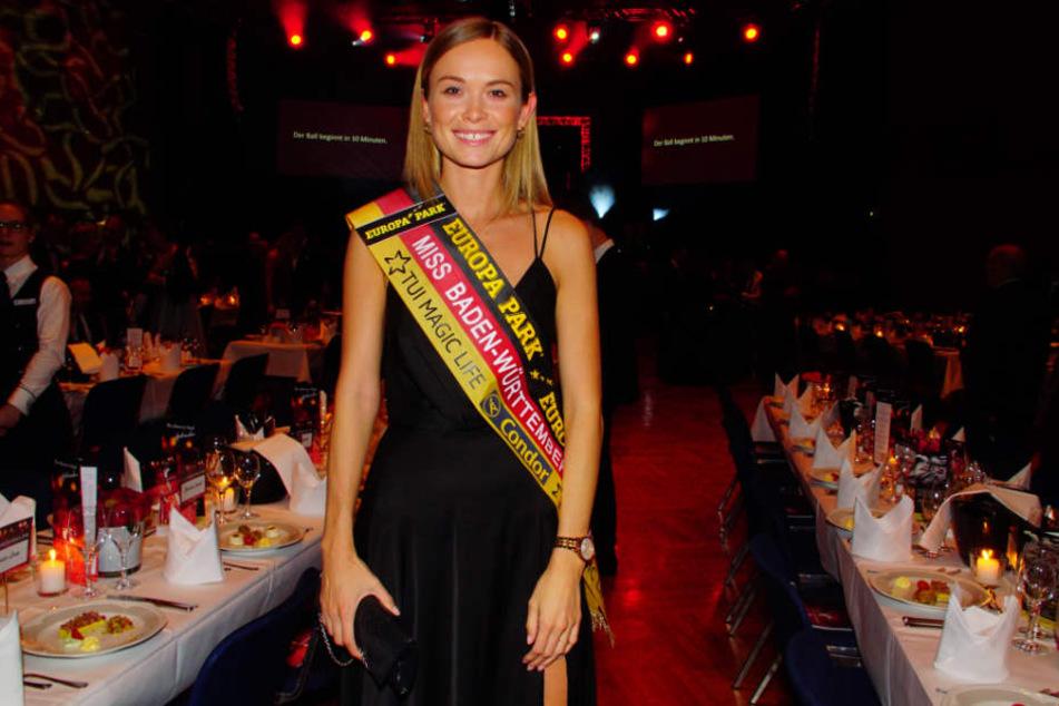 Wird sie Miss Germany? Die amtierende Miss Baden-Württemberg Nadine Berneis.