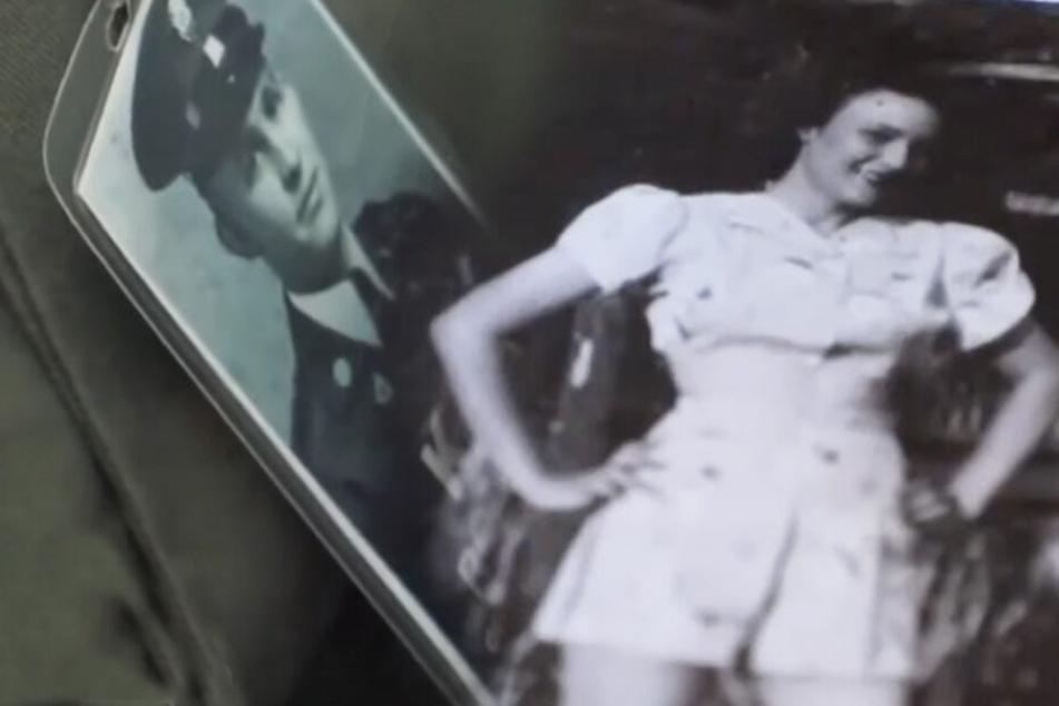 So sahen die beiden damals zur Zeit des Zweiten Weltkriegs aus.