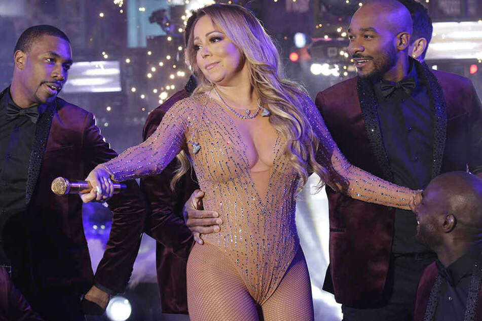 Der Auftritt von Mariah Carey bei der Silvesterparty auf dem Times Square ging voll daneben.