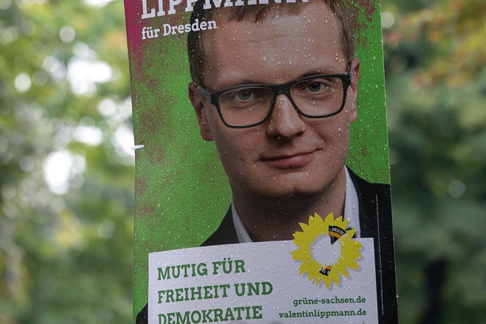 Die Neustadt liegt in seinem Wahlkreis: Valentin Lippmann (28, Grüne) will das Direktmandat holen.