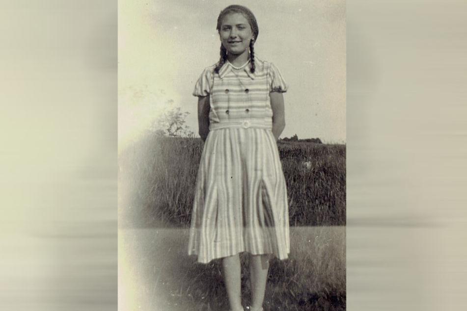 Ingeborg als junges Mädchen.
