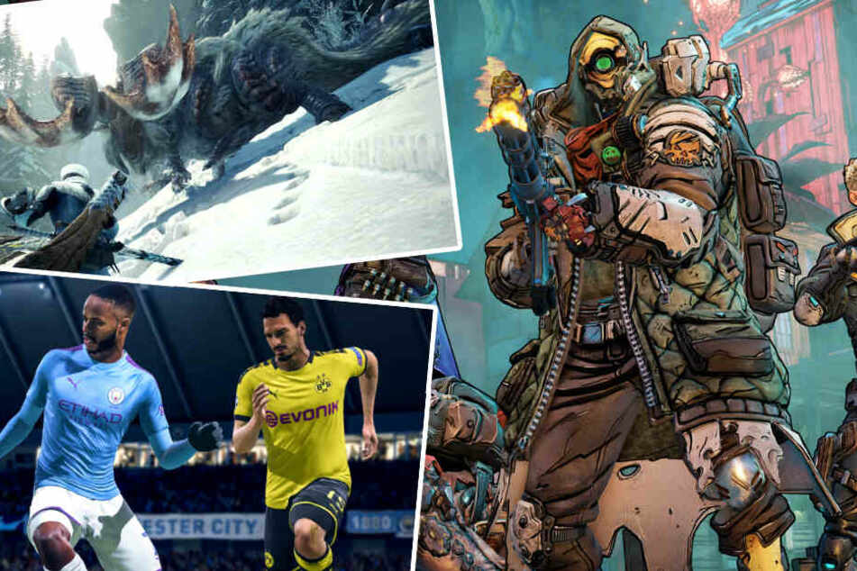 """Fifa 20"", ""Borderlands"", ""Monster Hunter"": Diese Spiele-Kracher erscheinen im September"