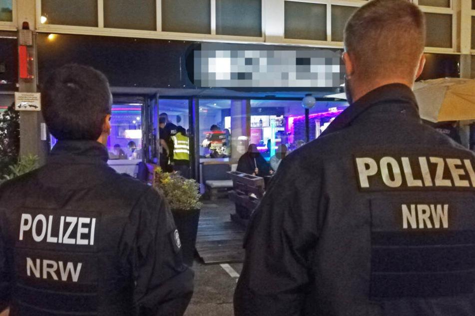Großrazzia in der Nacht: Drei Shisha-Bars müssen sofort schließen