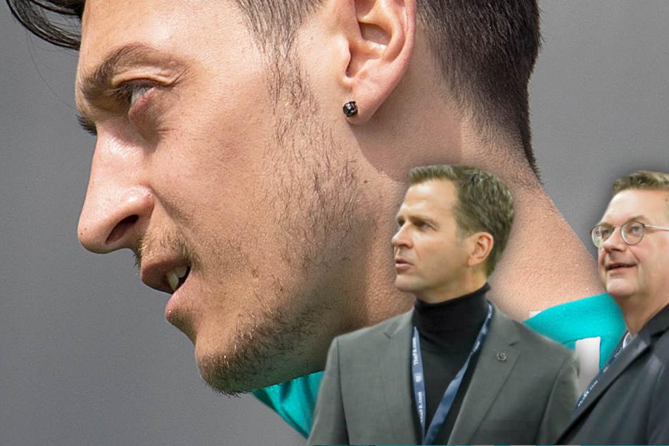Kostet die Debatte um Mesut Özil, Grindel und Bierhoff ihre Jobs?