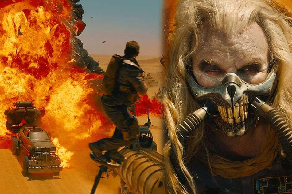 """Brachiale Endzeit-Action und richtig kranke Typen: In """"Mad Max"""" gibt es keine Zivilisation mehr."""