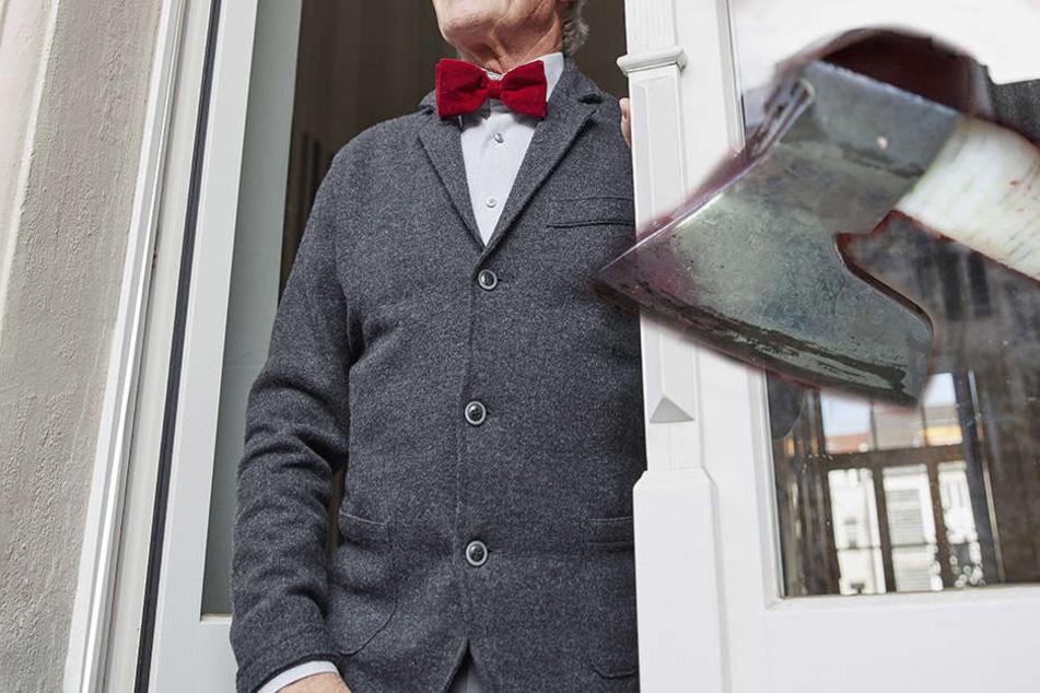 Als der Mann die Tür öffnete, stand auf einmal sein Nachbar vor ihm- bewaffnet mit einer Axt und einer Machete. (Symbolbild)