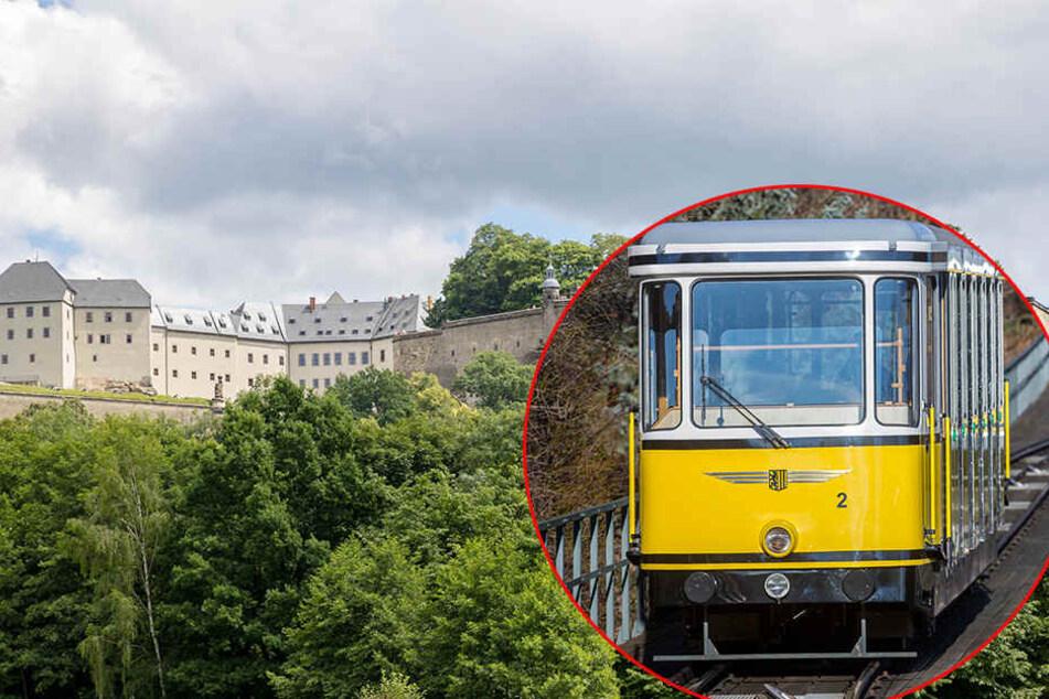 Eine Bergbahn für Königstein: Geht's in drei Jahren so zur Festung?