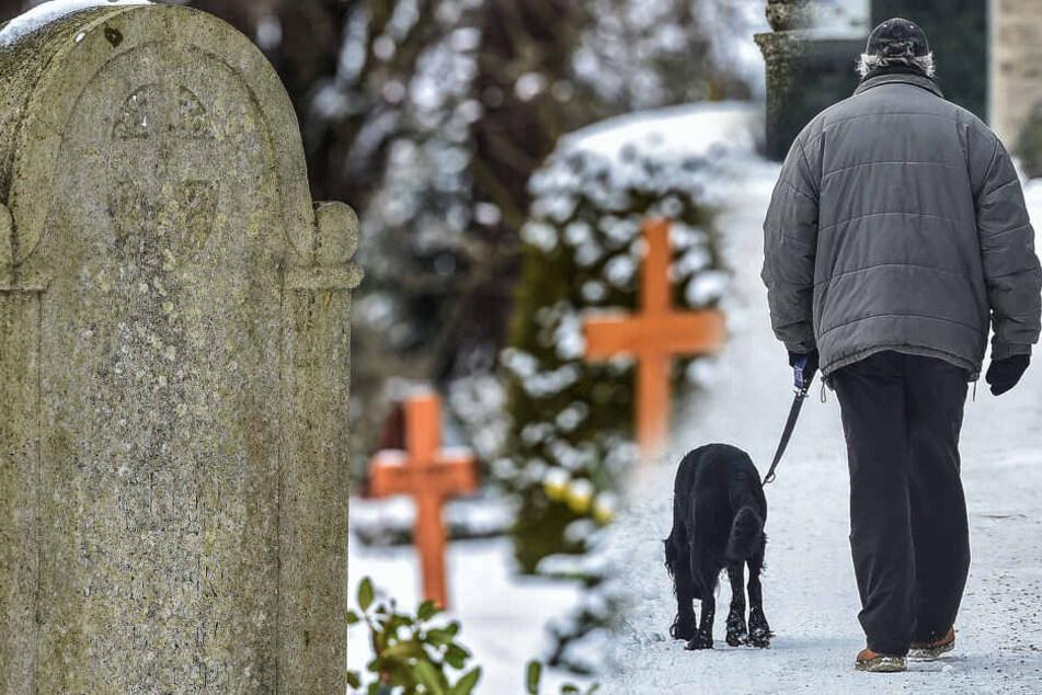 Erstmals in Sachsen: Jetzt dürfen Tiere mit ins Grab