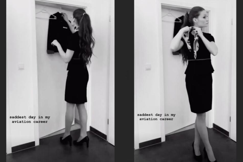 Auf Instagram nahm Jana Heinisch ihre Follower mit zu ihrem letzten Tag bei Germania.