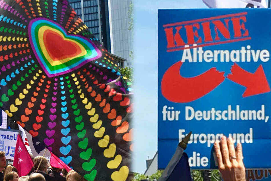Anti-AfD-Demo am Freitag in Frankfurt: Wie viele werden kommen?