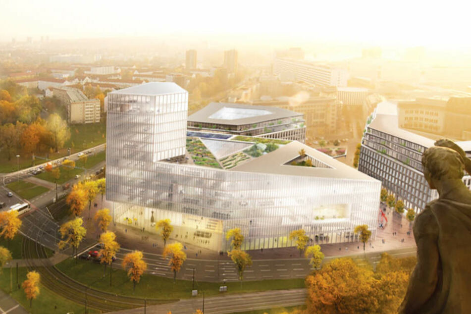 So sieht der Gewinner-Entwurf für die Bebauung am Ferdinandplatz aus.